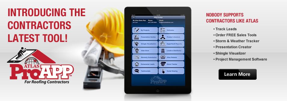 Atlas ProAPP for Roofing Contractors